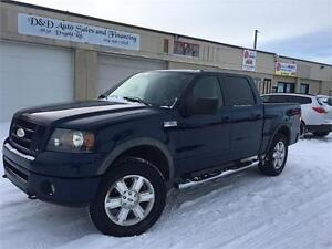 2007 Ford F-150 FX4-4WD-CREW CAB-SUNROOF-LOADED-ALLOYS