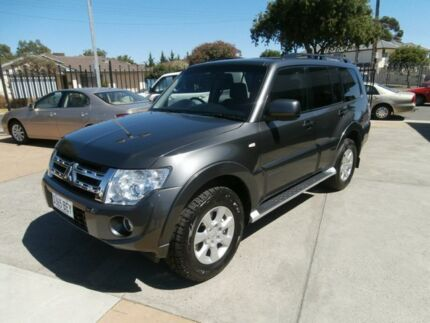 2012 Mitsubishi Pajero NW MY12 GLS Grey 5 Speed Sports Automatic Wagon Hillcrest Port Adelaide Area Preview