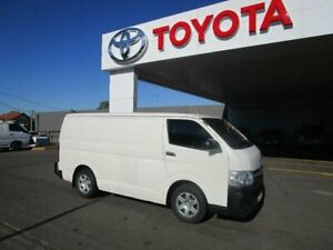 2013 Toyota HiAce KDH201R MY12 Upgrade LWB French Vanilla 4 Speed Automatic Van South Hurstville Kogarah Area Preview