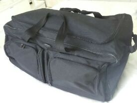 Black travel bags