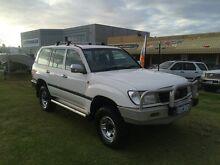 1998 Toyota Landcruiser FZJ105R RV White 5 Speed Manual Wagon Wangara Wanneroo Area Preview