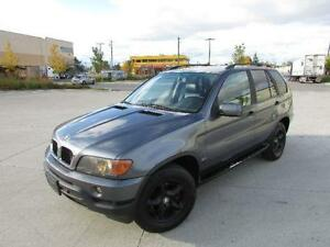 2001 BMW X5 SUV *LEATHER,LOADED,PERFECT WINTER CAR!!!*