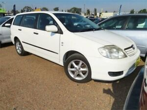 2006 Toyota Corolla ZZE122R Ascent Wagon 5dr Auto 4sp, 1.8i White Automatic Wagon Minchinbury Blacktown Area Preview