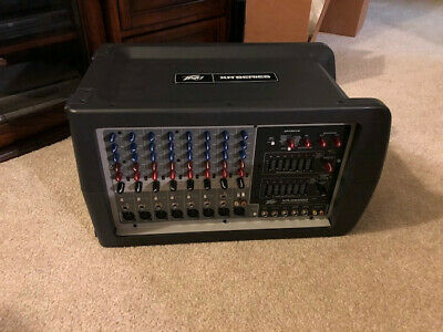 Peavey XR8600D Powered Mixer used in excellent condition