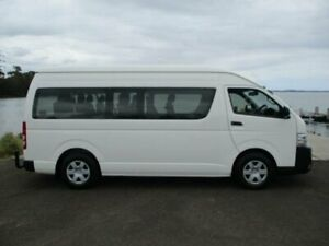 2015 Toyota HiAce KDH223R MY15 Commuter White 4 Speed Automatic Bus Dapto Wollongong Area Preview