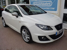 Seat Ibiza 1.4 ( 150ps ) SportCoupe DSG 2010 FR F/S/H 1 owner from new p/x