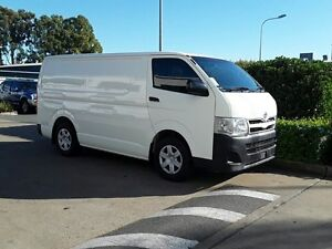 2012 Toyota Hiace KDH201R MY11 LWB French Vanilla 5 Speed Manual Van Acacia Ridge Brisbane South West Preview