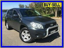 2007 Toyota RAV4 ACA33R CV (4x4) Grey 5 Speed Manual Wagon Lansvale Liverpool Area Preview