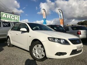 2008 Ford Falcon FG XT White 4 Speed Sports Automatic Sedan