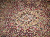 BLACK FRIDAY $$ MASHAD ANTIQUE PERSIAN CARPET -16 x 10FT!!!!