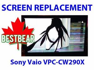 Screen Replacment for Sony Vaio VPC-CW290X Series Laptop