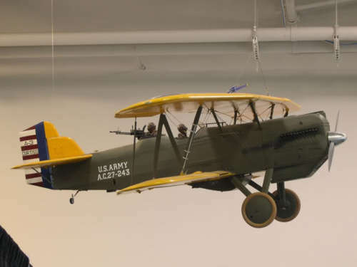 Giant 1/4 Scale Curtiss Falcon Plans,Templates and Instructions 114ws