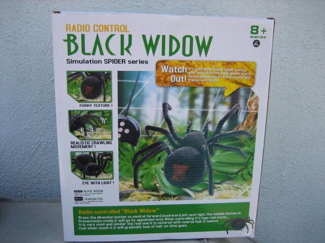 "Halloween 11"" 4 CH Radio Control Black Widow Eyes light up"