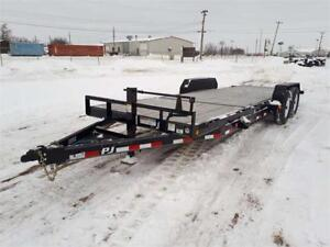 Brand new TRAILERS from dealer inventory reduction.