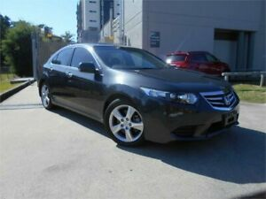 2011 Honda Accord Euro CU MY12 Grey Metallic 5 Speed Automatic Sedan Southport Gold Coast City Preview