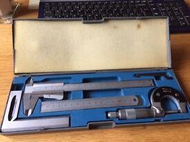Sealey 4pc Measuring set