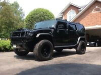 2005 HUMMER H2 SUPERCHARGED. ALL BLACK