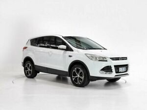 2014 Ford Kuga TF Ambiente (FWD) White 6 Speed Manual Wagon Cooee Burnie Area Preview
