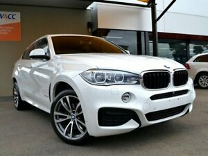 2016 BMW X6 F16 xDrive30d Coupe Steptronic White 8 Speed Sports Automatic Wagon Fawkner Moreland Area Preview