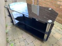 ***FREE GLASS TV STAND***