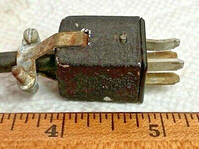 Vintage Cinch Jones 4 Pin Male Connector Plug- 6 Cable Attached