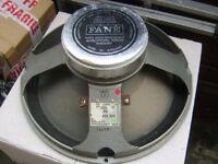 Vintage 15 inch Fane loudspeaker