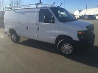 2010 FORD E-250 CARGO VAN - LADDER RACK!! MINT CONDITION!