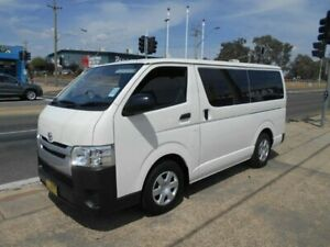 2014 Toyota HiAce KDH201R MY14 LWB White 4 Speed Automatic Van Fyshwick South Canberra Preview