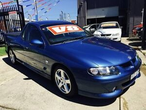 2002 Holden Commodore Vuii SS 4 Speed Automatic Utility Brooklyn Brimbank Area Preview