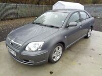 TOYOTA AVENSIS T3-X 1794cc 2004 5 DOOR HATCHBACK GREY 113,000 MILES MOT 29/11/17 EXCELLENT CONDTION