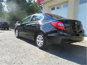 2012 Honda Civic Sdn LX  AUTOMATIC EASY FINANCE WE FINANCE ALL Edmonton Edmonton Area image 4