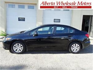 2012 Honda Civic Sdn LX  AUTOMATIC EASY FINANCE WE FINANCE ALL Edmonton Edmonton Area image 1