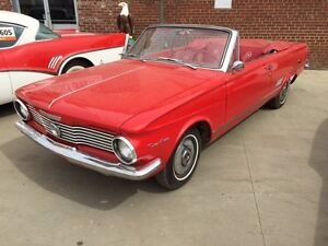 1964 PLYMOUTH SIGNET CONVERTIBLE