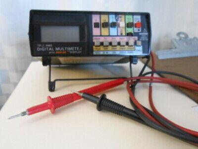Simpson True Rms Digital Multimeter With Digalog Display Model 467-used Good
