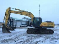 2002 New Holland 270 excavator w/thumb, Cummins, and low hours! Edmonton Edmonton Area Preview