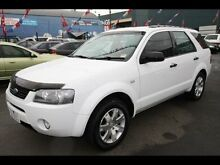 2008 Ford Territory SY SR (RWD) White 4 Speed Auto Seq Sportshift Wagon West Footscray Maribyrnong Area Preview
