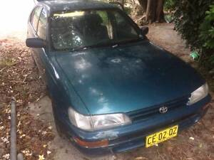 1994 Toyota Corolla Hatchback with rego and pink slip Swansea Heads Lake Macquarie Area Preview