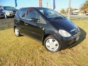 1999 Mercedes-Benz A160 W168 Classic Black 5 Speed Automatic Hatchback Wangara Wanneroo Area Preview