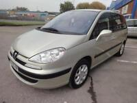 LHD 2006 PEUGEOT 807 COMFORT PACK 2.2 HDI 7SEATS 5 Door FRENCH REGISTERED