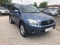 2006 Toyota RAV4 2.0 XT3 Station Wagon 5dr MANUAL + TWO KEYS +LONG MOT