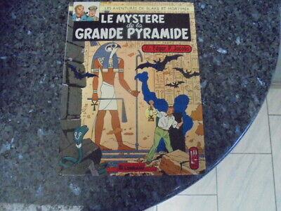 belle reedition blake et mortimer le mystere de la grande pyramide tome1