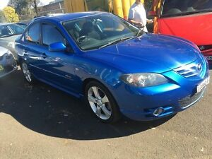 2005 Mazda 3 BK SP23 Blue 4 Speed Auto Activematic Sedan Campbelltown Campbelltown Area Preview