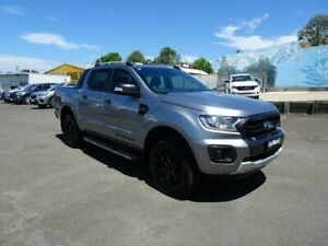 2019 Ford Ranger PX MKIII 2019.7 Wildtrak Aluminium 10 Speed Sports Automatic Double Cab Pick Up Nowra Nowra-Bomaderry Preview