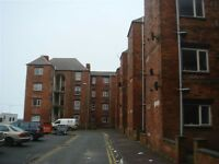 Two bedroom unfurnished flat available for immediate let, Egerton Court. DSS accepted, NO Bond