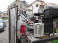 SCRAP METAL FROM HOME RENOVATION AND APPLIANCES