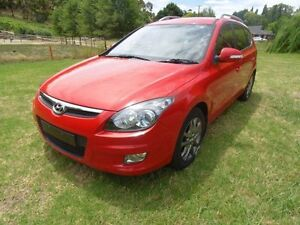 2011 Hyundai i30 FD MY11 SLX cw Wagon Red/Black 4 Speed Automatic Wagon Mount Barker Mount Barker Area Preview