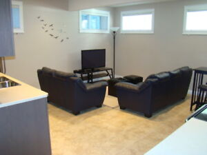Large & Bright 2 bedroom Furnished LEGAL Basement  Stonecreek