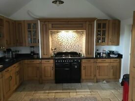Sheraton solid oak kitchen cabinet doors
