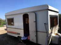 Very rare Esterel Supermatic Folding Caravan with awning, 3 berth - ready to go