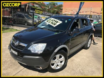 2010 Holden Captiva CG MY10 5 (FWD) Black 5 Speed Manual Wagon Homebush Strathfield Area Preview